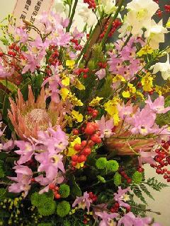 生花アレンジメントフラワー