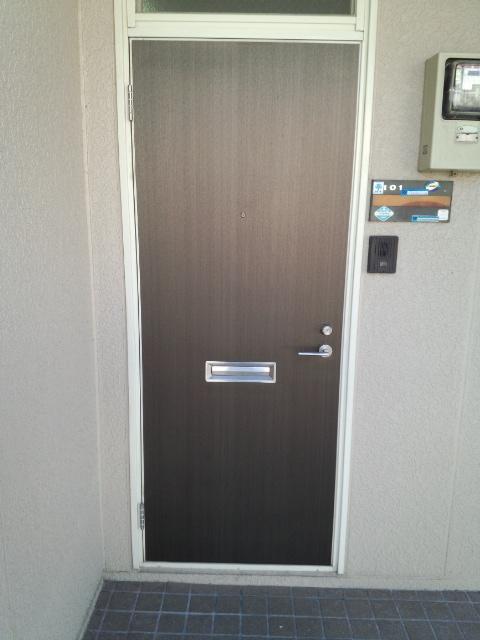 玄関ドアダイノックシート