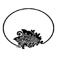 家紋 ひげ丸揚羽蝶