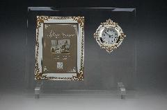 フォトフレーム時計