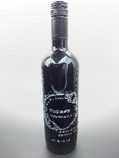 ワインボトル彫刻