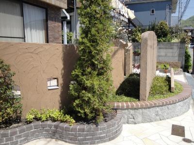 ブロック塀設置