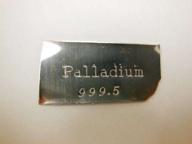 パラジウム地金(パラジウム999.5%)