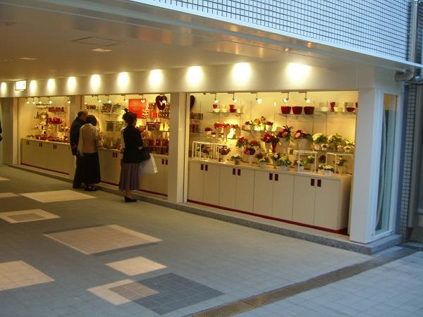 新宿の花屋さん オーダーメイド収納及び内装工事