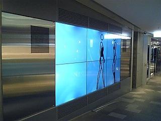 表参道 ショッピングモール インフォメーション専用パネル