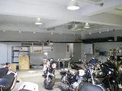 東京都練馬区バイクショップ内装工事