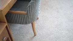 デザインのあるカーペット<神戸市リフォーム>