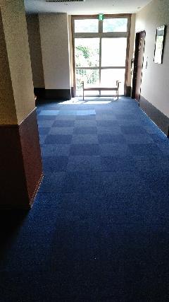 タイルカーペットのリフォーム 神戸介護施設