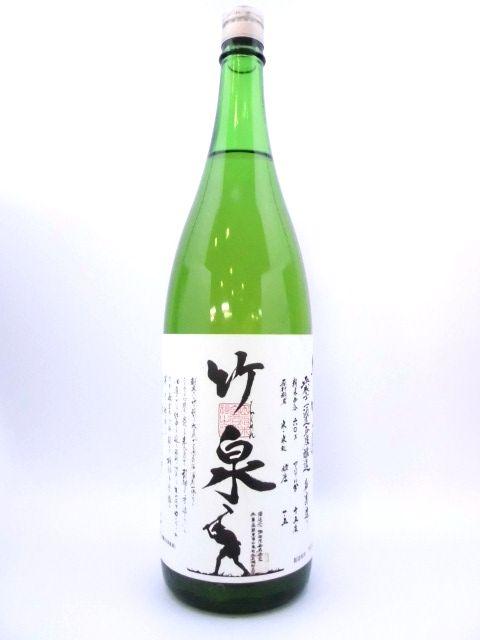 竹泉 純米吟醸 阿波山田錦 1800ml