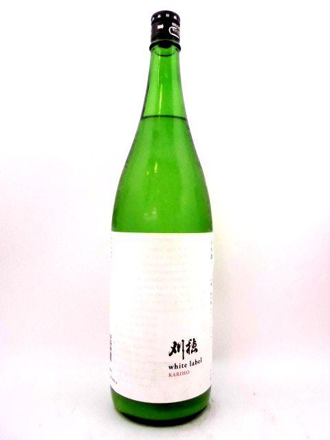 刈穂 純米生酒 white label 1800ml