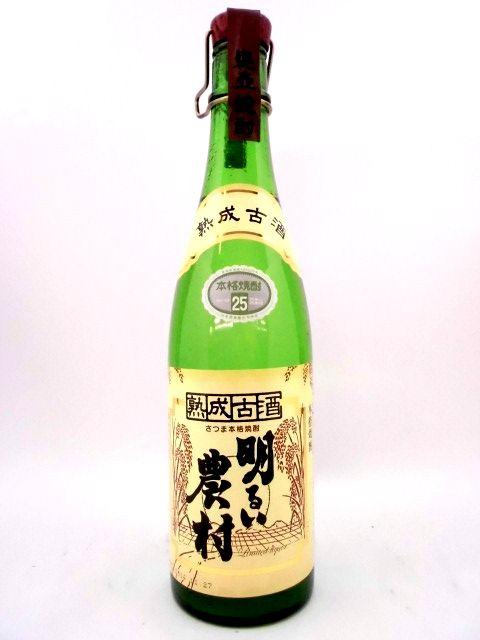 明るい農村 熟成古酒 【芋】 720ml