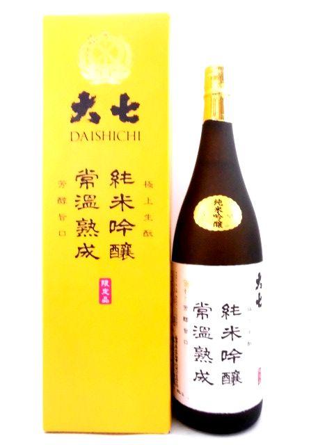 大七 生もと純米吟醸 常温熟成 1800ml