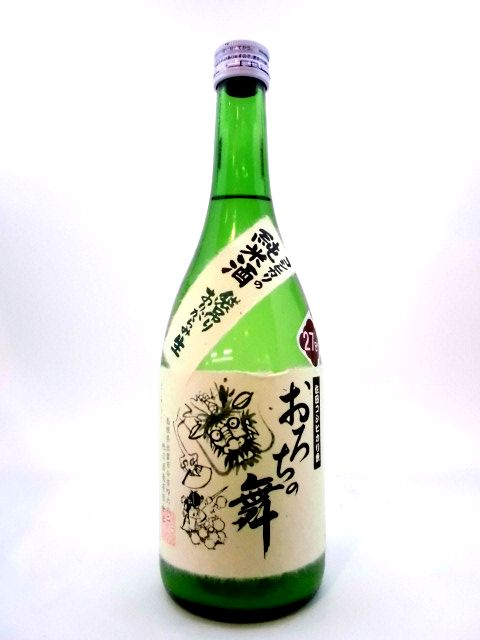 十旭日 おろちの舞 純米生原酒袋吊り 720ml
