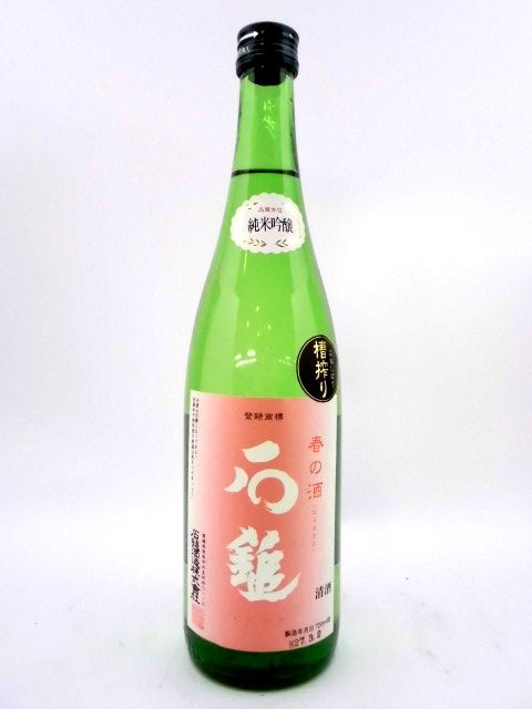 石鎚 純米吟醸 春の酒 720ml