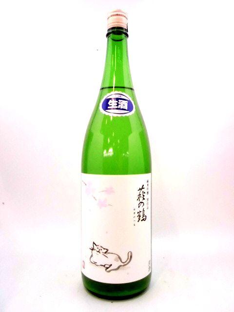 萩の鶴 純米吟醸生原酒 猫ラベル 1800ml