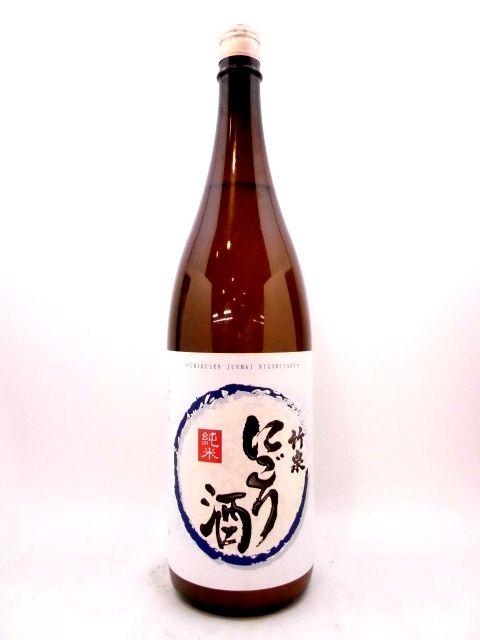 竹泉 純米にごり 1800ml