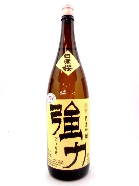 日置桜 純米吟醸 伝承強力 6号酵母 1800ml