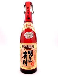 明るい農村 赤芋 熟成古酒 720ml