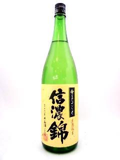 信濃錦 特別純米生酒 命まるごと 1800ml