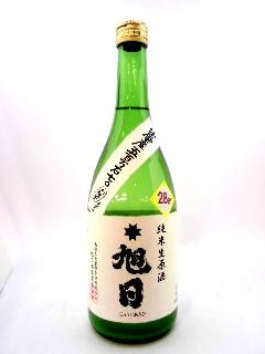 十旭日 純米生原酒おりがらみ 五百万石 720ml
