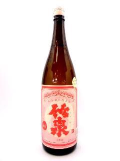 竹泉 山廃純米生酒 どんとこい 1800ml