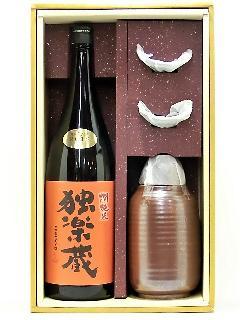 独楽蔵 燗純米 お燗酒セット 1800ml