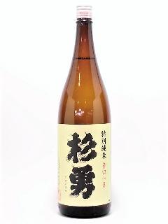 杉勇 特別純米 辛口+8 1800ml