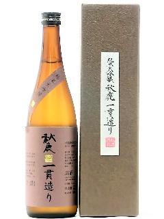 秋鹿 純米大吟醸雫酒 一貫造り 720ml