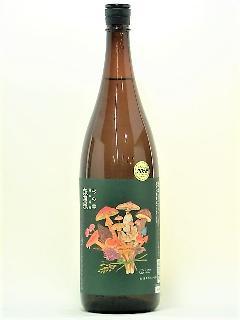 諏訪泉 杉の雫 純米吟醸 きのこラベル 1800ml