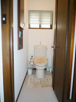 トイレのリフォーム 施工後
