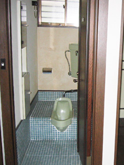 トイレのリフォーム 施工前