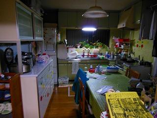 キッチンリフォーム施工前