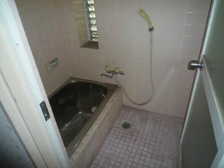 浴室入替え施工前