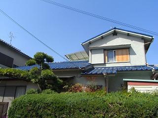 雨樋、屋根瓦葺き替え工事 施工前