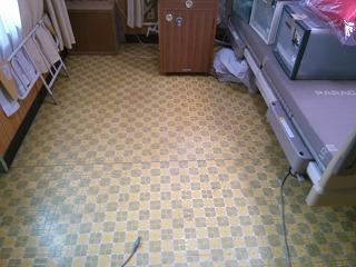 床の張替え工事 施工前