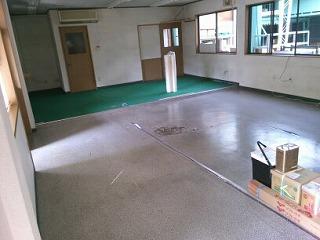 床、クロス張替工事 施工前