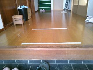 床のリフォーム 施工前