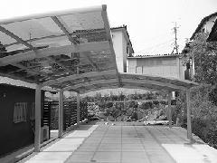 奈良県生駒郡<カーポート設置工事>