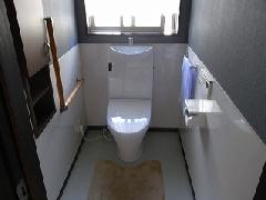 トイレ施工例 奈良県生駒郡平群町