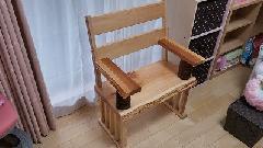 無垢材椅子施工