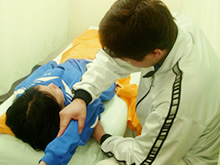 スポーツ診療 鍼治療