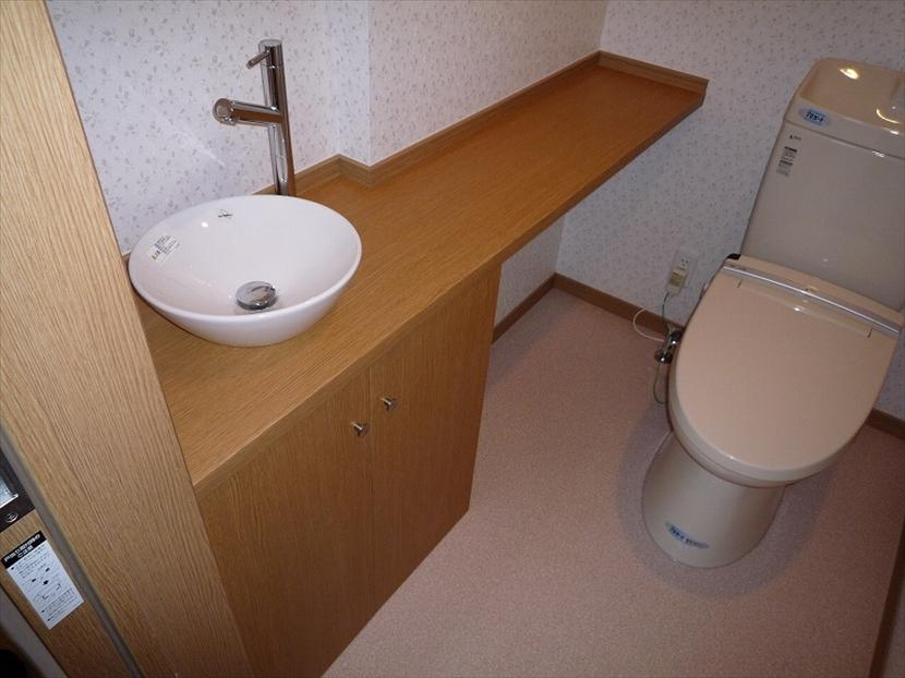 トイレカウンター