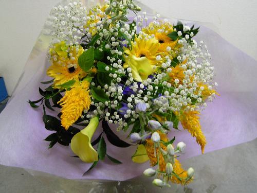 販売した花束 (1)