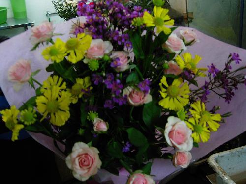 販売した花束 (2)