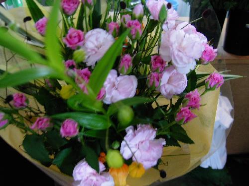 販売した花束(3)