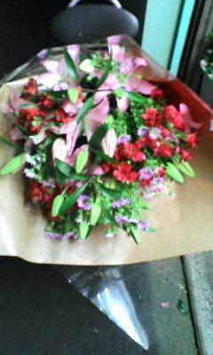 販売した花束(15)