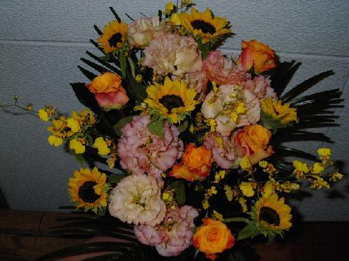販売した花束