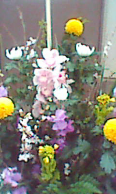 販売した供養アレンジ花