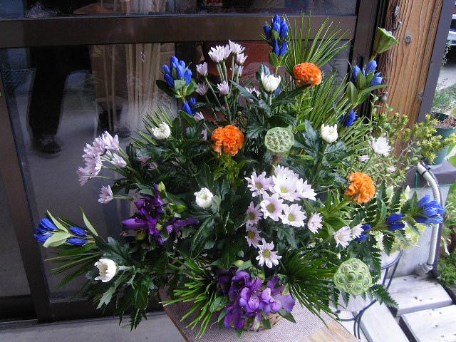 販売した御供養花。