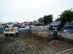 駐車場工事(東京都江戸川区)